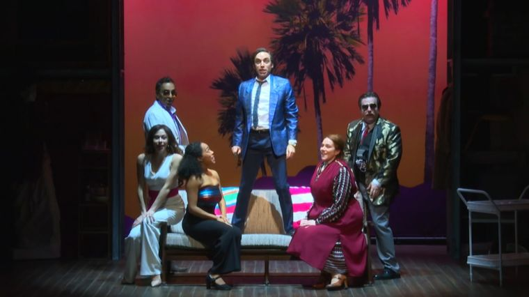 "REWORKED ""MERRILY WE ROLL ALONG"" TAKES THE STAGE"