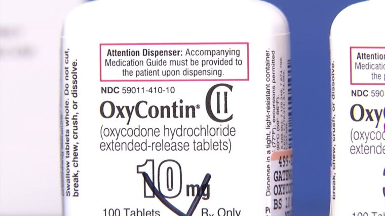 FAMILY BEHIND OXYCONTIN SUED