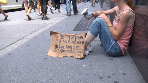 HOMELESS IN NYC