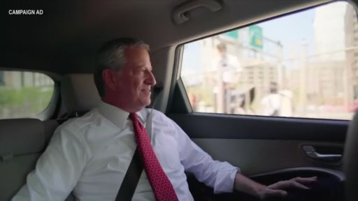 DE BLASIO'S PRESIDENTIAL PITCH