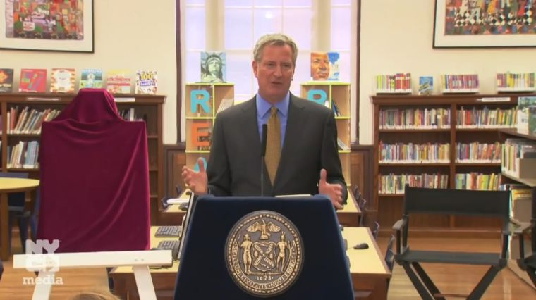 OUTRAGE: DE BLASIO'S PROPOSED LIBRARY CUTS