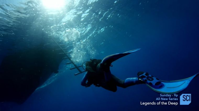 "COUSTEAU'S ""LEGENDS OF THE DEEP"""