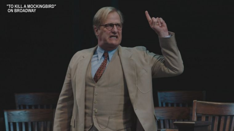 JEFF DANIELS IS ATTICUS FINCH