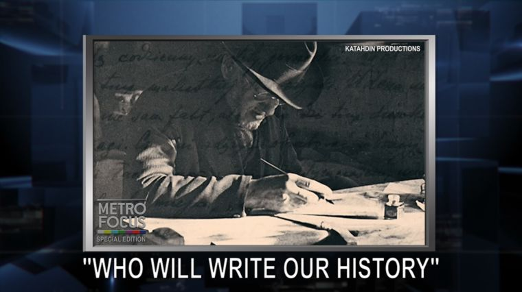 "SPECIAL EDITION: ""WHO WILL WRITE OUR HISTORY"""