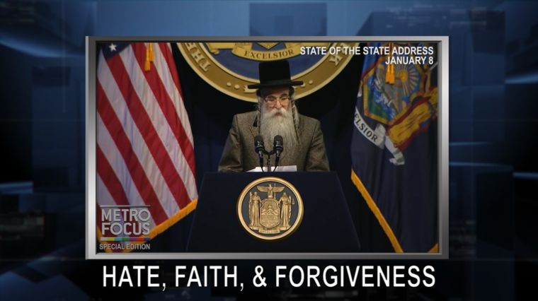 SPECIAL REPORT: HATE, FAITH AND FORGIVENESS