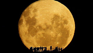 Full Moon Silhouettes