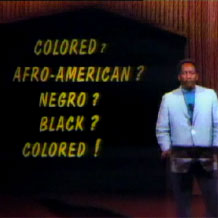 """Lou House reports on The Carolina Times deciding to revert to \""""colored\"""" as a valid term, 1968"""