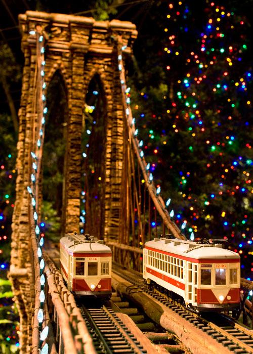 Photos The Holiday Train Show At The New York Botanical Garden