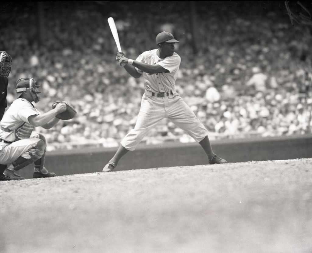 Jackie Robinson at Bat
