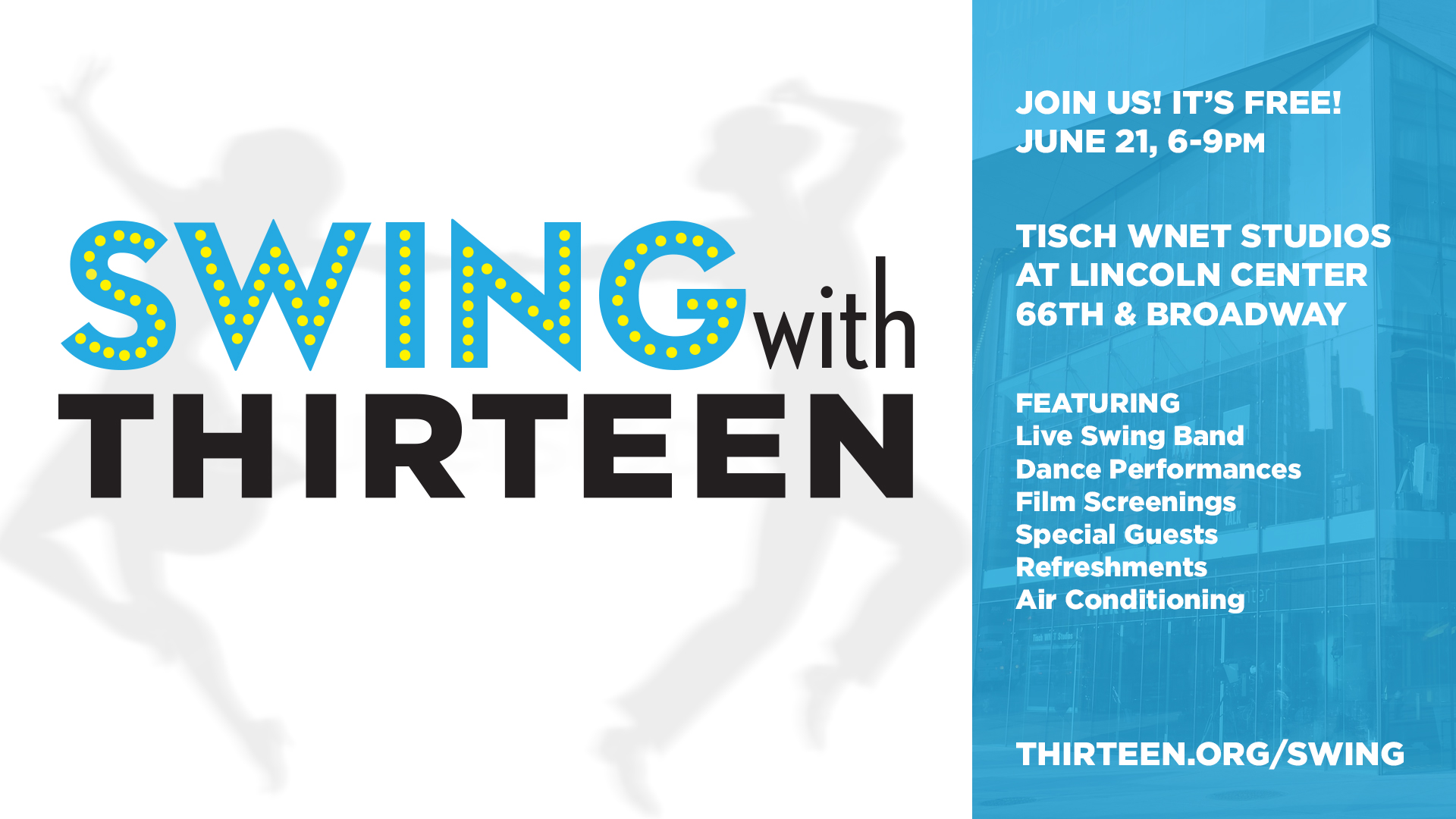 swing with thirteen at lincoln center | blog | thirteen - new york