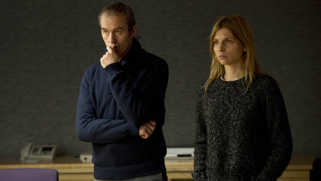 The Tunnel on PBS: Stephen Dillane as Karl and Clemence Posey as Elise.