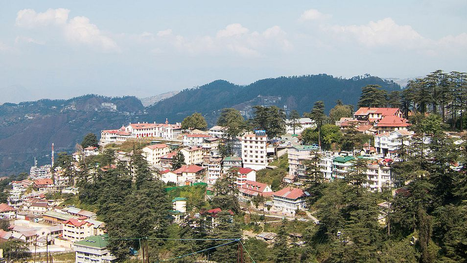 Simla in India