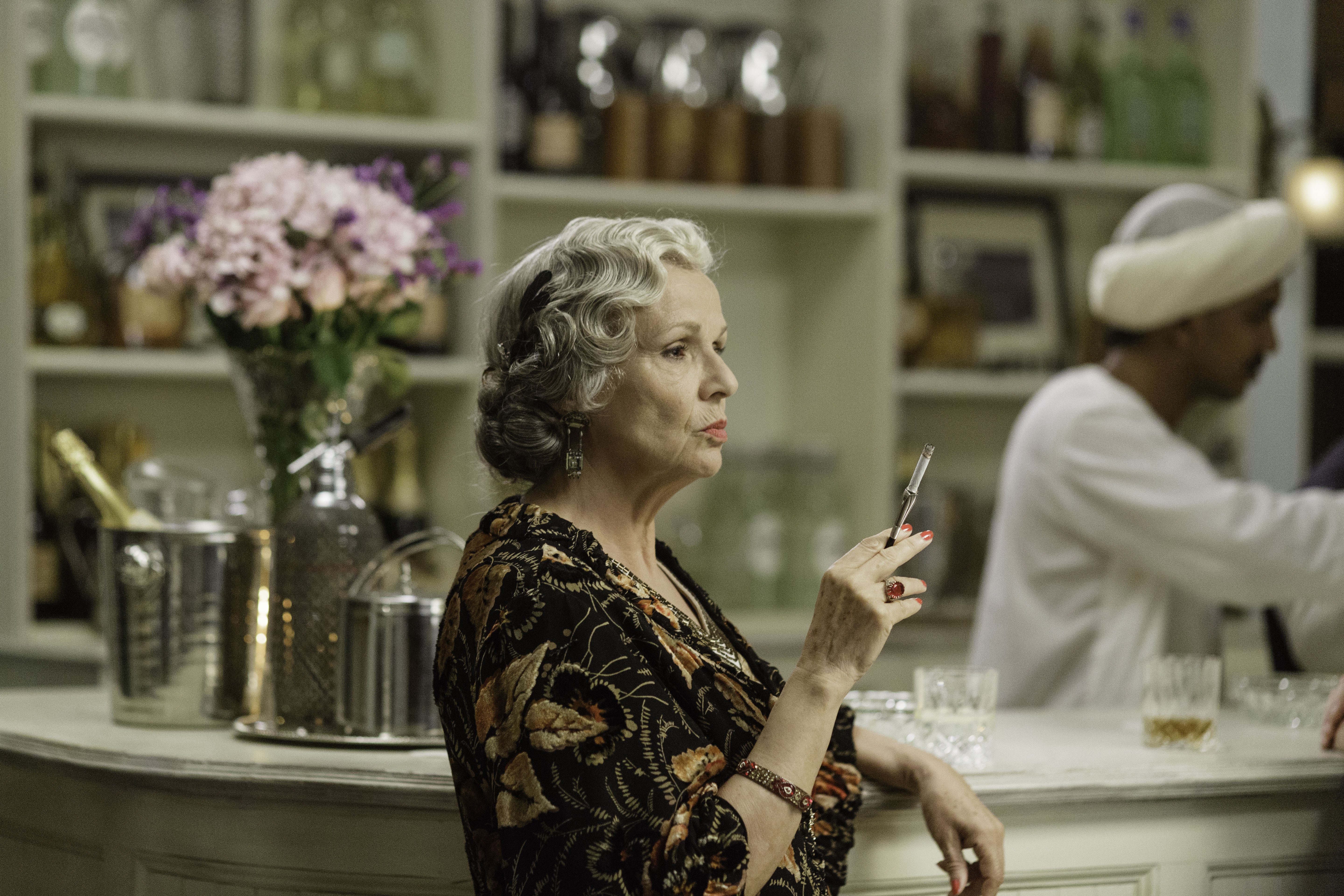 MASTERPIECE Indian Summers, Season 2 on PBS. Julie Walters as Cynthia Coffin