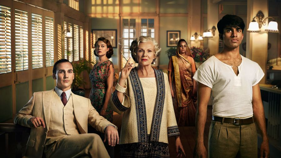 Some of the cast of Indian Summers, Season 2.