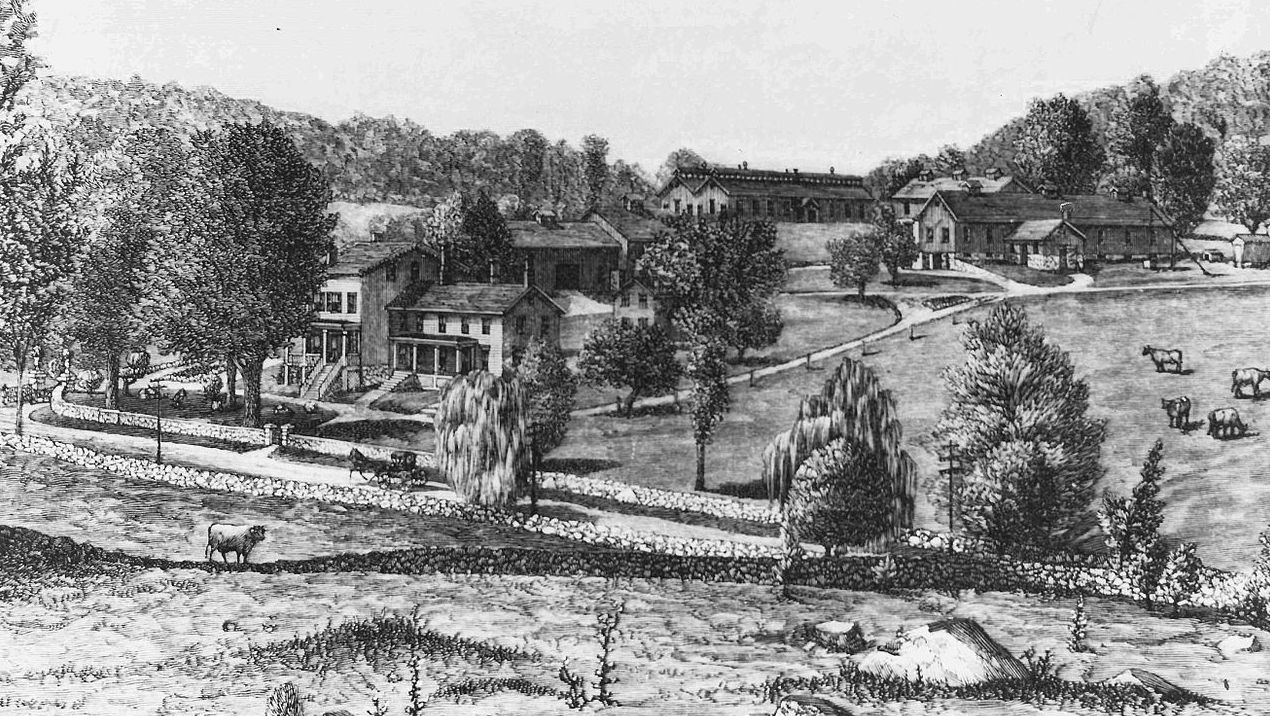 Briarcliff Farm, James Stillman's property in Briarcliff Manor, New York.