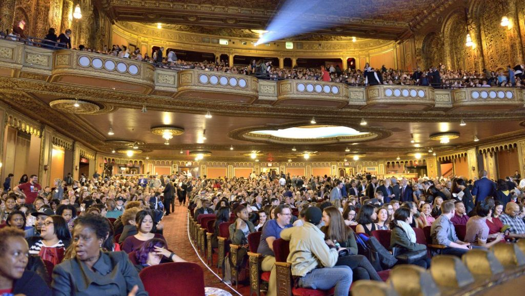 "Great Performances: ""Hamiltons America: A Documentary Film"" PBS premiere at United Palace Theater, October 17, 2016. Photo: Joe Sinnott/WNET"
