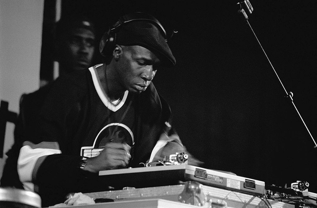 DJ Grandmaster Flash, who created hip hop in The Bronx, photographed, in March 1999. Photo: Mika-photography.