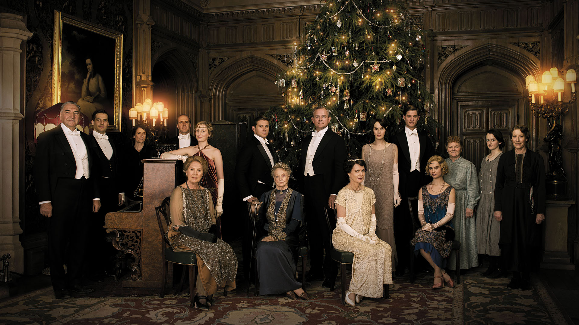 Image result for Downton Abbey: Christmas at Downton Abbey