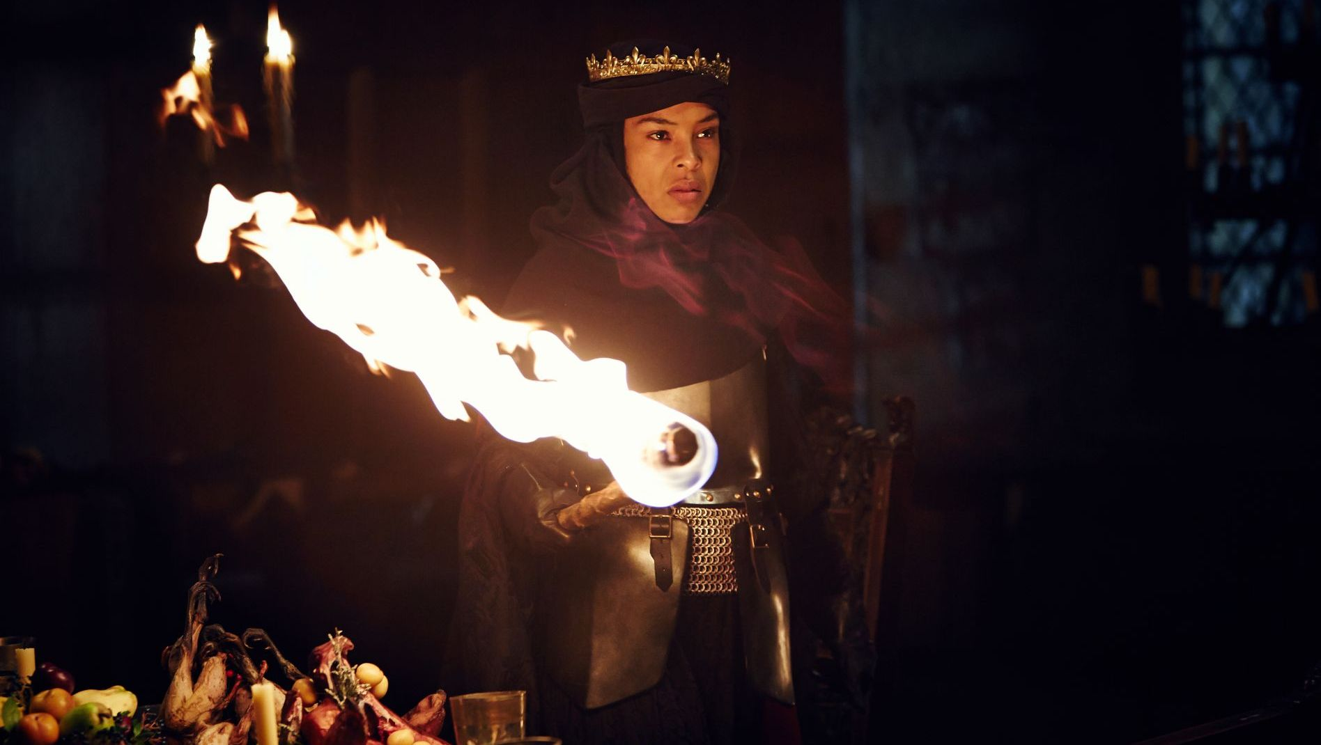 Wars of the Roses HENRY VI (PART II). Sophie Okonedo (as Queen Margaret)