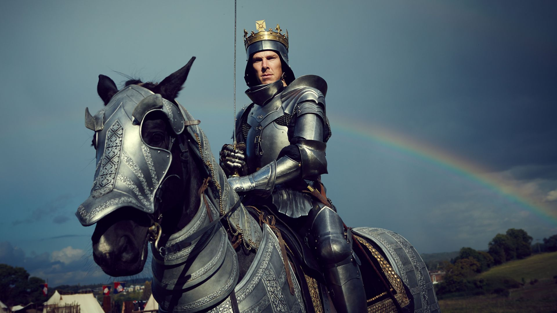 Benedict Cumberbatch plays Richard III in The Hollow Crown: The Wars of the Roses RICHARD III. Photographer: Robert Viglasky © 2015 Carnival Film & Television Ltd