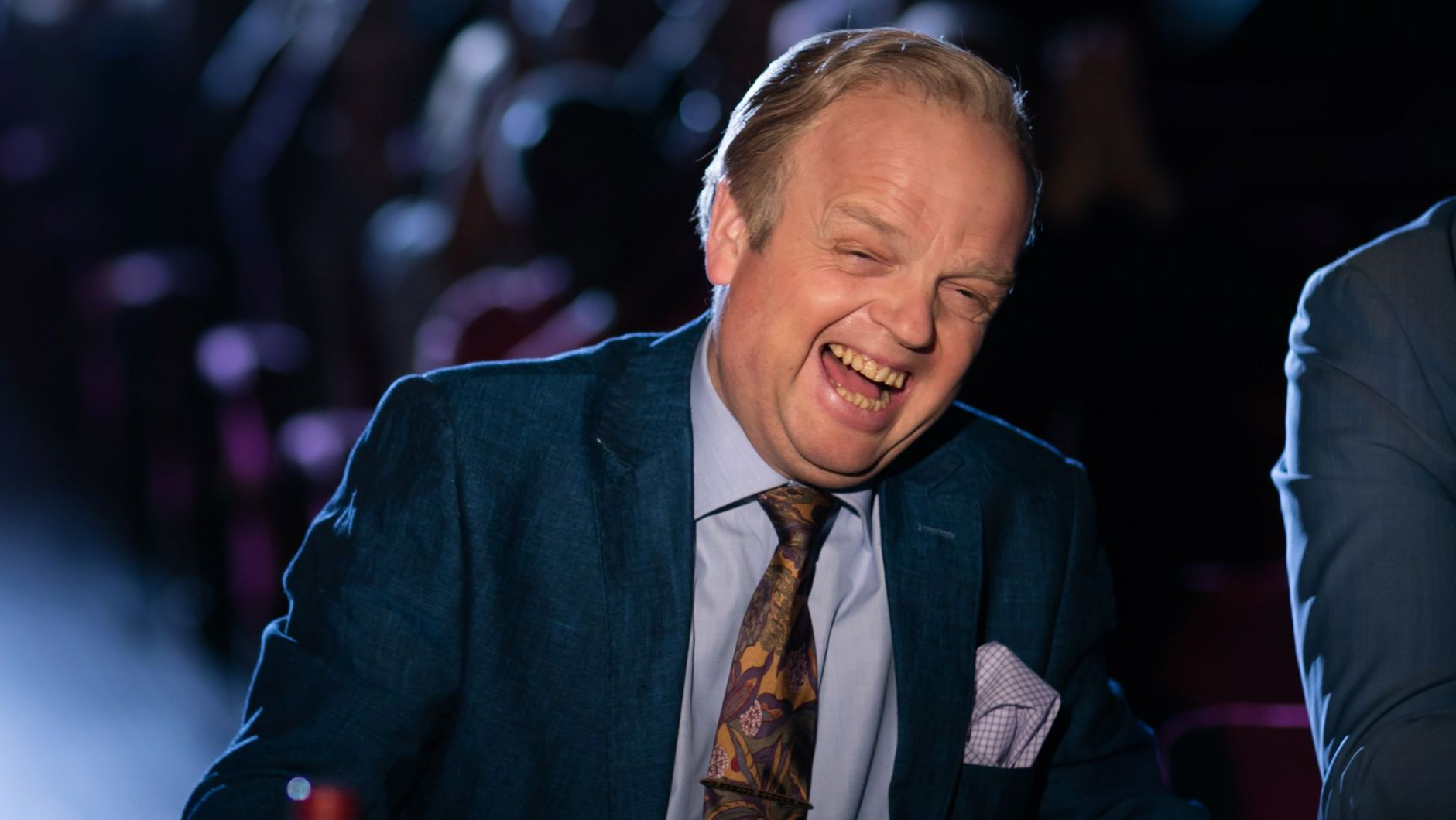 Toby Jones as Culverton Smith in Sherlock