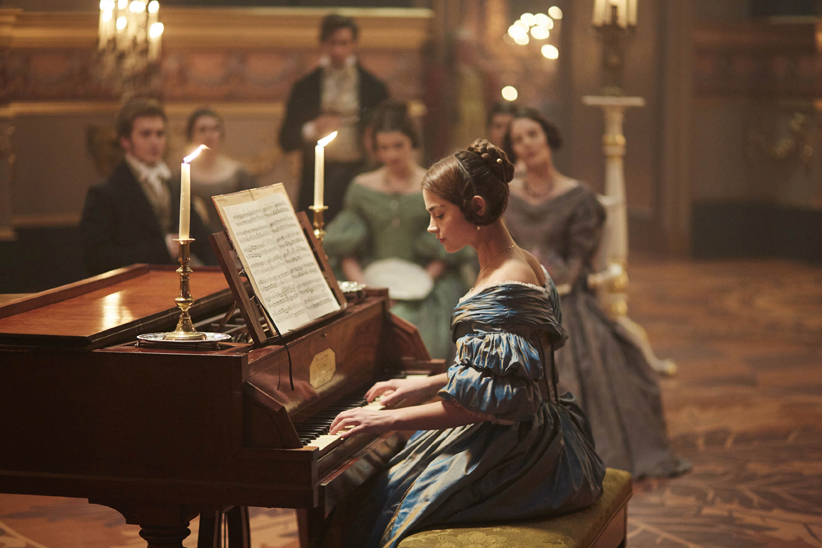 "Victoria On MASTERPIECE on PBS *SPECIAL TWO-HOUR PREMIERE* SUNDAY, JANUARY 15, 2017 AT 9PM ET Continues Sundays, January 22 – February 19, 2017 at 9pm ET Season Finale on Sunday, March 5 at 9pm ET Episode Two – ""Brocket Hall"" Sunday, January 22 at 9pm ET Facing rioters and suitors, Victoria grows into her royal role. As she ponders marriage, her friendship with Lord Melbourne grows more complex. Shown: Jenna Coleman as Victoria (C) ITV Plc"