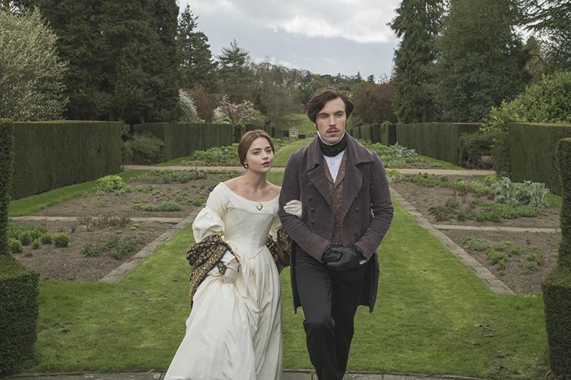 """Victoria On MASTERPIECE on PBS *SPECIAL TWO-HOUR PREMIERE* SUNDAY, JANUARY 15, 2017 AT 9PM ET Continues Sundays, January 22 – February 19, 2017 at 9pm ET Season Finale on Sunday, March 5 at 9pm ET Episode Five – """"The Queen's Husband"""" Sunday, February 12 at 9pm ET At loose ends in a foreign land, Albert finds a noble cause. Victoria gets her way at court and resorts to a folk cure in the bedroom. Francatelli does Miss Skerrett a favor—for a price. Shown from left to right: Jenna Coleman as Victoria and Tom Hughes as Prince Albert (C) ITV Plc"""