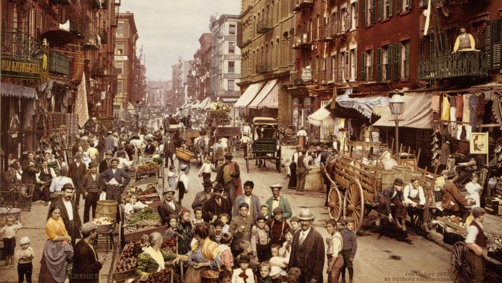 Mulberry St., Manhattan, ca. 1900