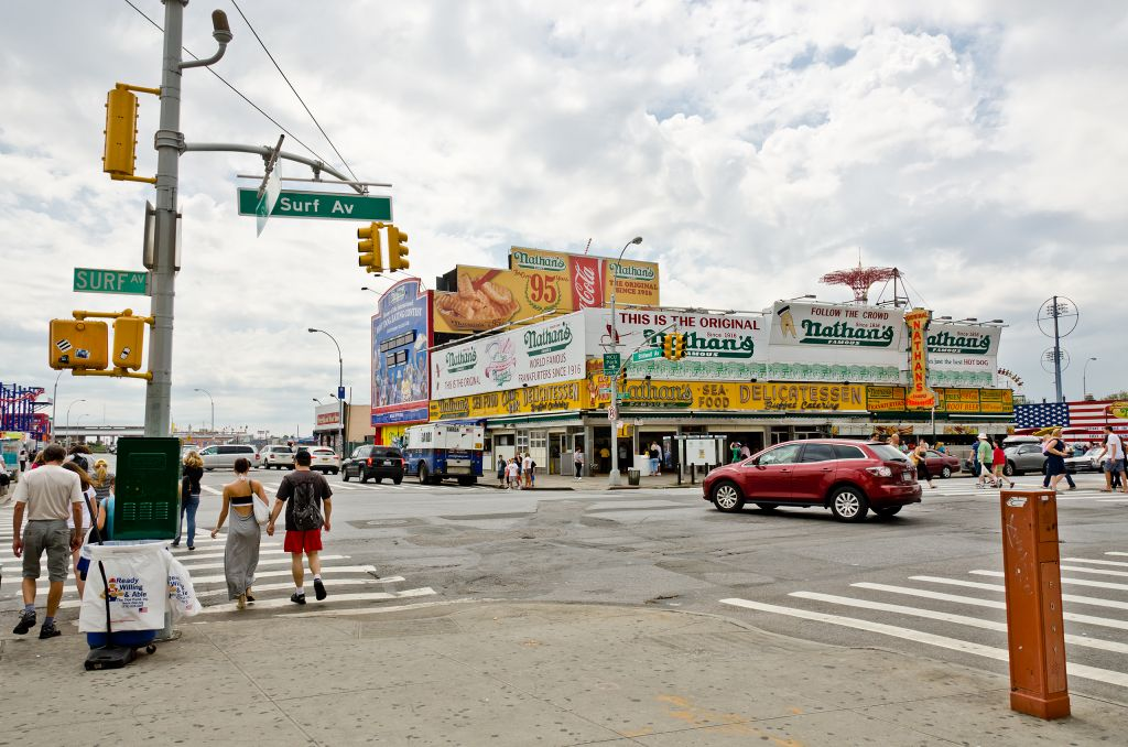 Nathan's in Coney Island