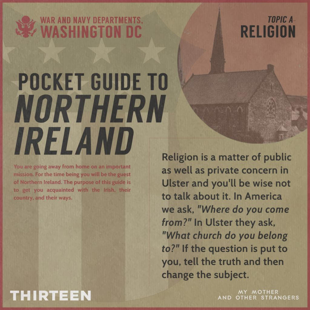Text from the Pocket Guide to Northern Ireland.