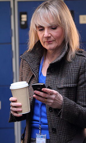 Lesley Sharp in Scott and Bailey
