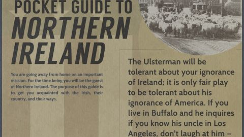 Pocket Guide to Northern Ireland: Words of Wisdom