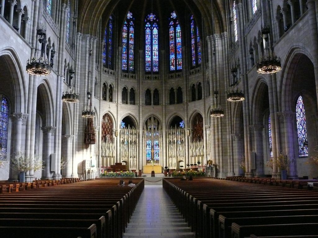 Interior of Riverside Church on W. 120th Street in Manhattan. Photo: Ad Meskens