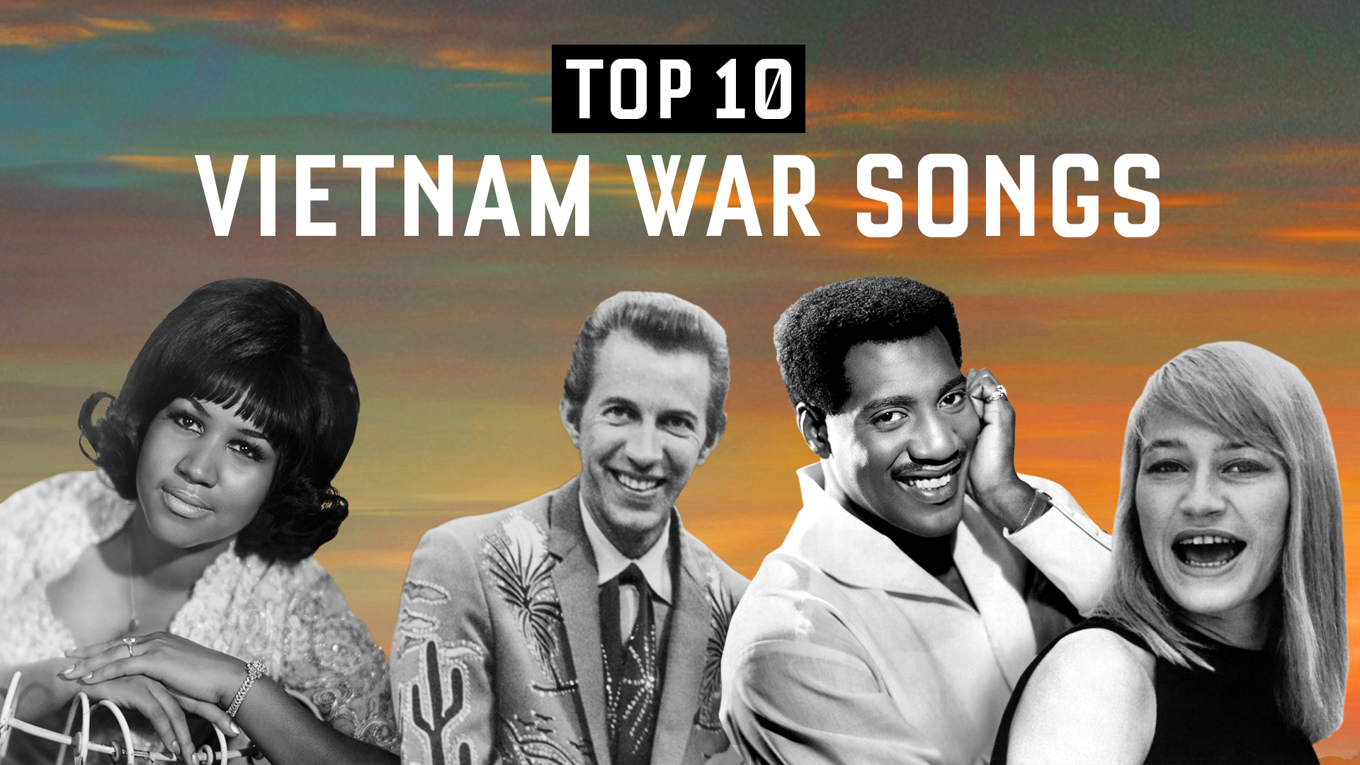 Top 10 Vietnam War Era Songs | Veterans Playlist