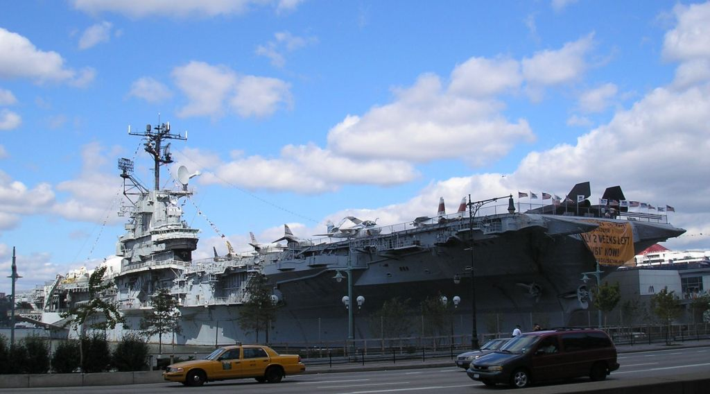 Intrepid Sea-Air-Space Museum. Photo by Deror Avi.