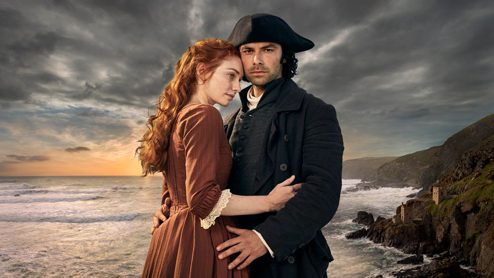 Dezmelda and Ross Poldark