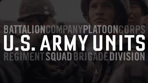 U.S. Army Units Explained: From Squads to Brigades to Corps