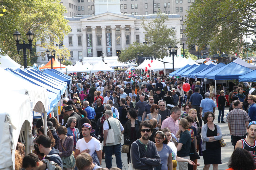 The Brooklyn Book Festival.