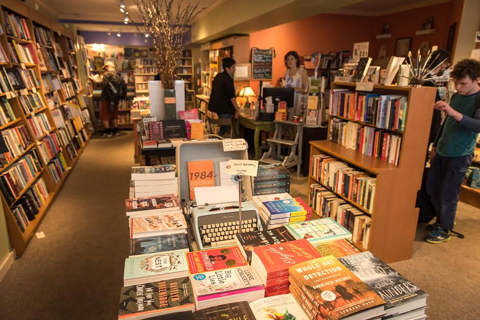 Astoria Bookshop interior.