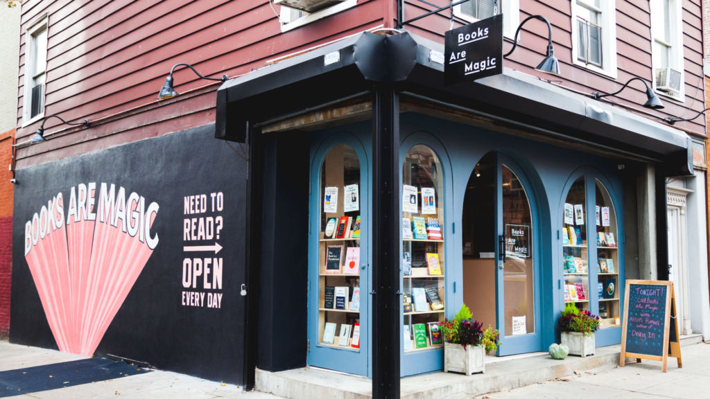 Books are Magic store on Smith Street in Cobble Hill.