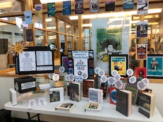The Farmingdale Public Library is ready for The Great American Read with this great display.