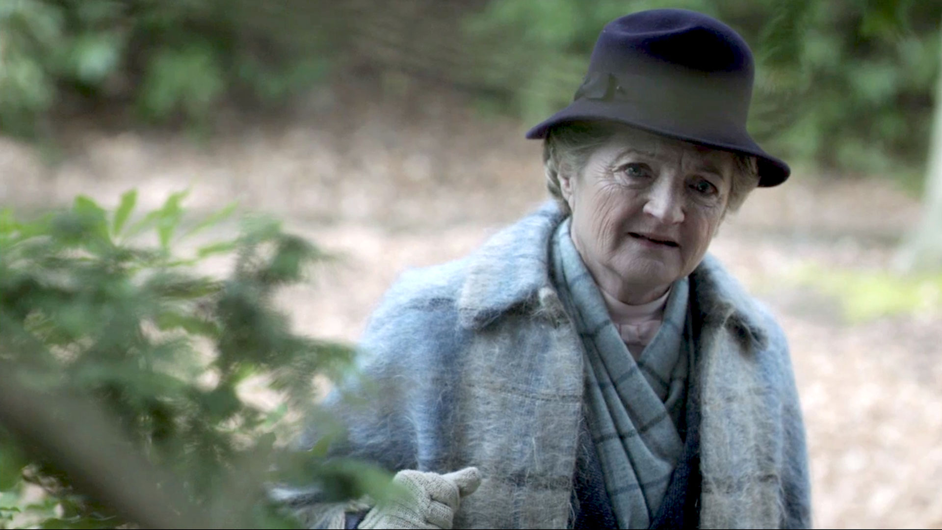 Julia McKenzie plays Miss Marple on episodes of Miss Marple on Masterpiece Mystery!