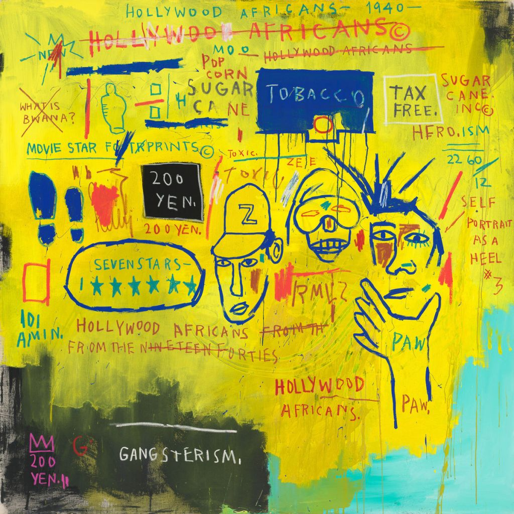 Hollywood Africans by Jean-Michel Basquiat.