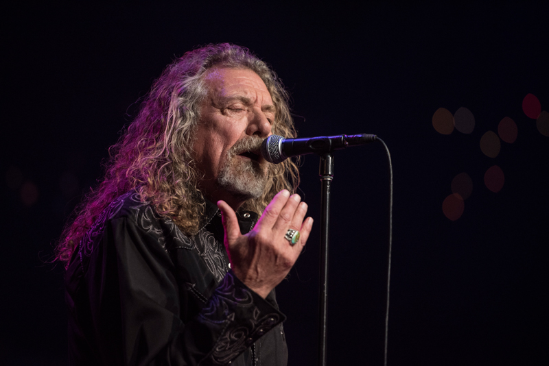 Robert Plant in his 2016 Austin City Limits taping for PBS.