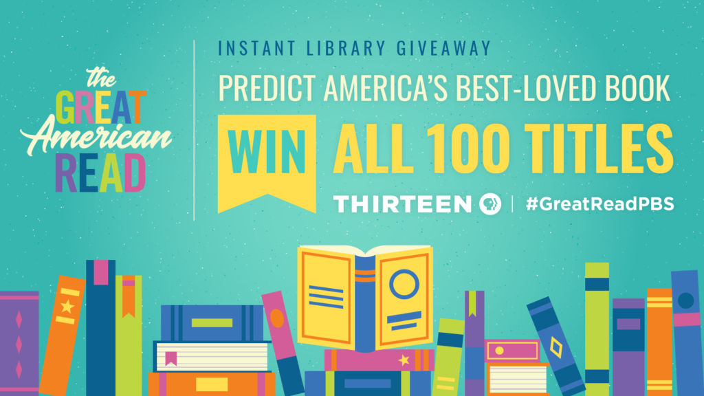 Thirteen Great American Read Instant Library Giveaway