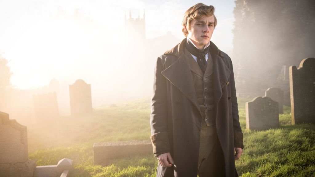 Ben Hardy as the artist Walter Hartright in The Woman in White.