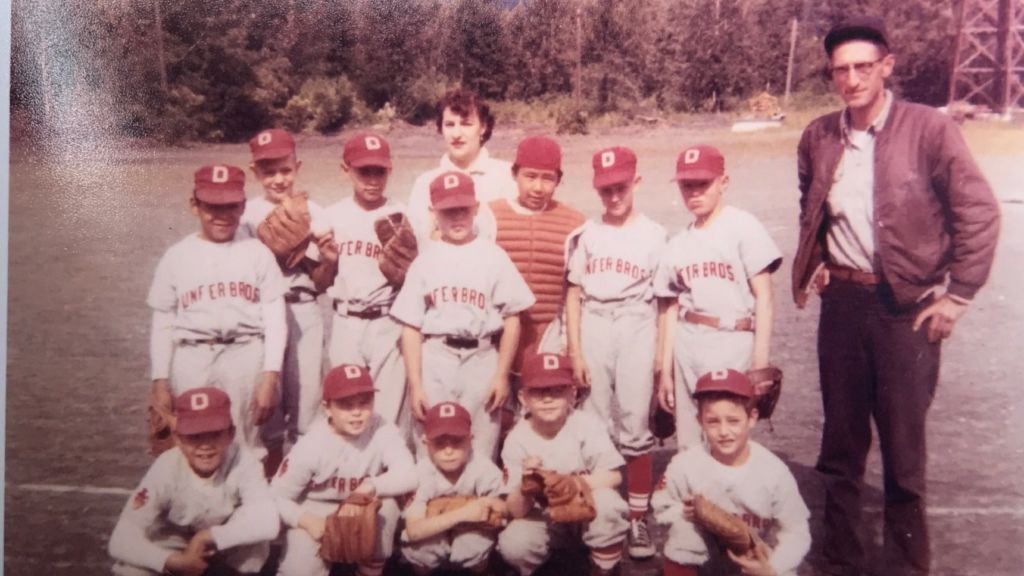 Danny Kendall and Rudolph (Bucky) Svein's little league team, episode Great Alaskan Earthquake.