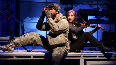 Ernest Shackleton Loves Me: Off Broadway on Television