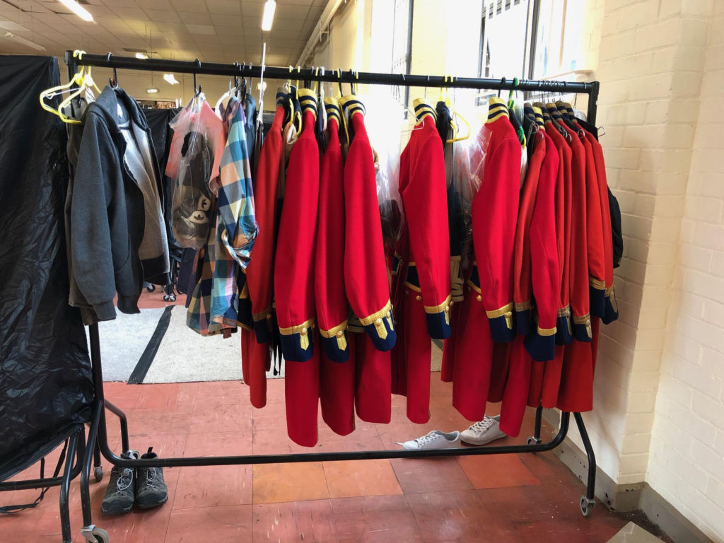 Military red coat rentals