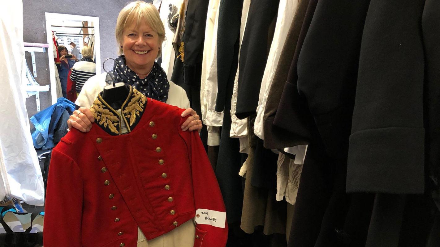Victoria costume designer Rosalind Ebbutt.